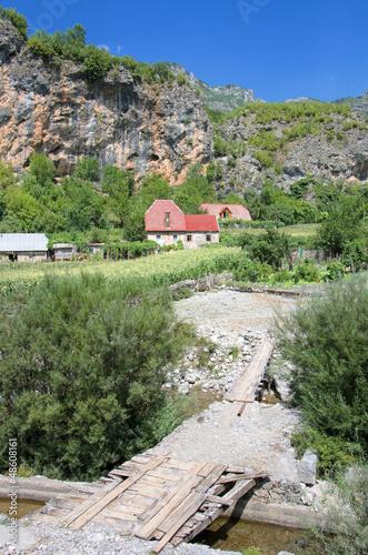 Farmhouses In Kelmend Commune, Albania © ollirg