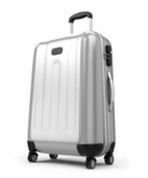 Fototapety Large suitcase isolated on white