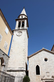 Catholic church of the St John the Baptist in Budva, Montenegro