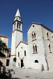 Church of the Saint John the Baptist in Budva, Montenegro