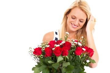 roses from secret admirer