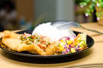 Fried fish...