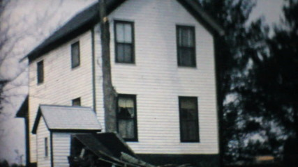 Old Cabin By The River-1967 Vintage 8mm film