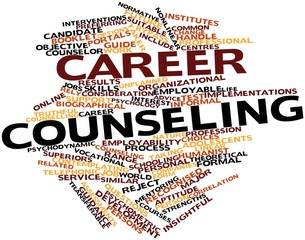 Word cloud for Career counseling