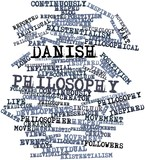 Word cloud for Danish philosophy