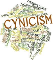 Word cloud for Cynicism