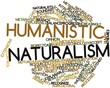Word cloud for Humanistic naturalism