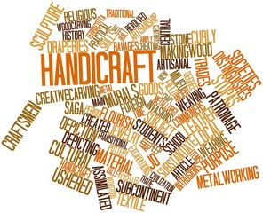 Word cloud for Handicraft