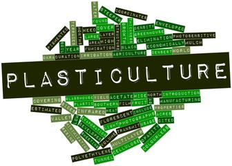 Word cloud for Plasticulture