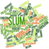 Word cloud for Slum