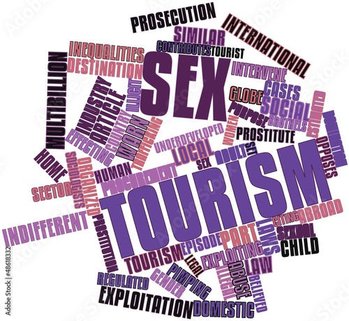 Word cloud for Sex tourism