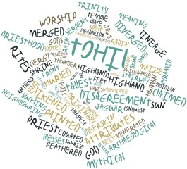 Word cloud for Tohil