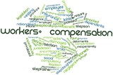 Word cloud for Workers' compensation