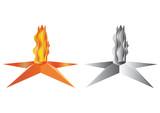 Vector eternal fire poster