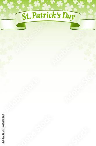 St.Patrick's Day design background