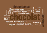 WEB ART DESIGN TAG CLOUD BARRRE CHOCOLAT CARRE 400
