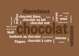 WEB ART DESIGN TAG CLOUD BARRRE CHOCOLAT CARRE 400