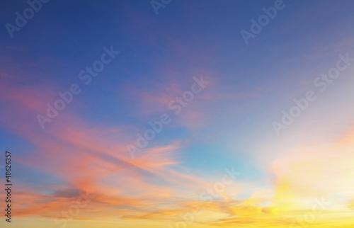 Fotobehang Zonsondergang Sky Background