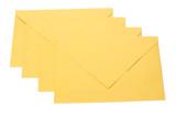 Close-up of envelopes