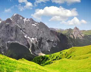 Marmolada peak,Val di Fassa - Italy Alps