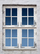 canvas print picture - altes weisses Fenster