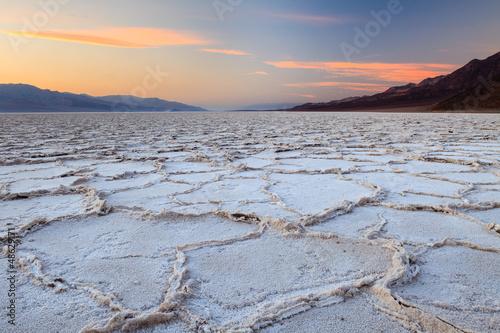 Tramonto a Badwater, Valle della Morte © Pixelshop
