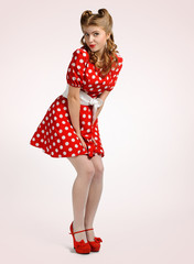 pretty pinup girl