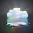 Cloud computing Tablet PC