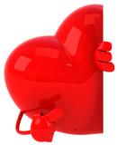 Fototapety Fun heart