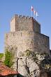 Постер, плакат: Castillo del Rey en San Vicente de la Barquera Cantabria