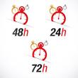 Livraison en 24h, 48h et 72 h chrono