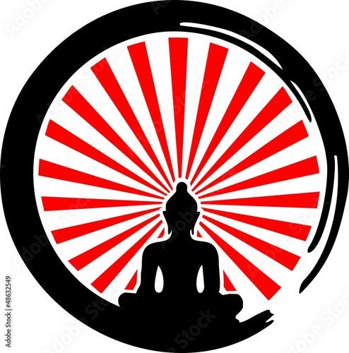 Enso Zen, Buddha, Meditation, Japan, Strahlen