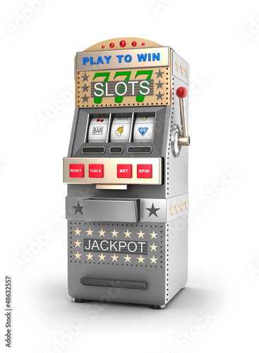 A slot machine, gamble machine.