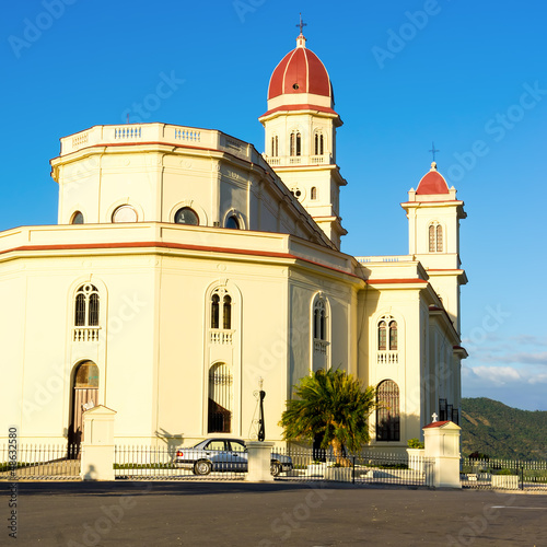 The church of El Cobre in Santiago de Cuba