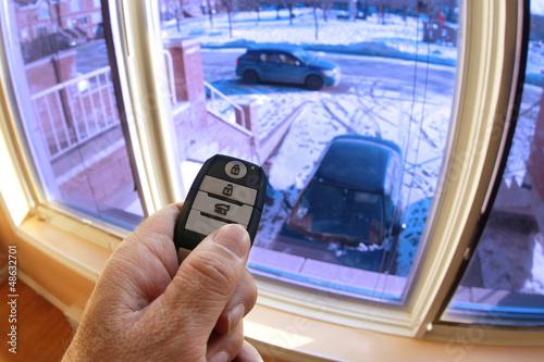 Remote car starter - 48632701