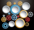 color background gears