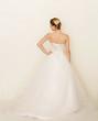 Brautkleid von hinten
