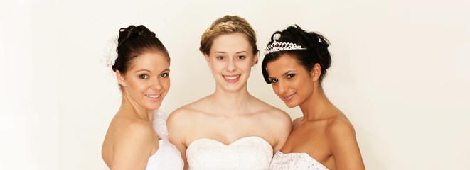 drei schöne Bräute