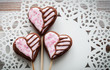 Valentine cookie pops