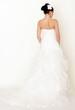 Braut von hinten