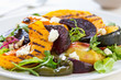 Grilled vegetables with feta cheese salad