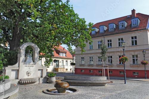 Leinwandbild Motiv Stubenrauch-Denkmal