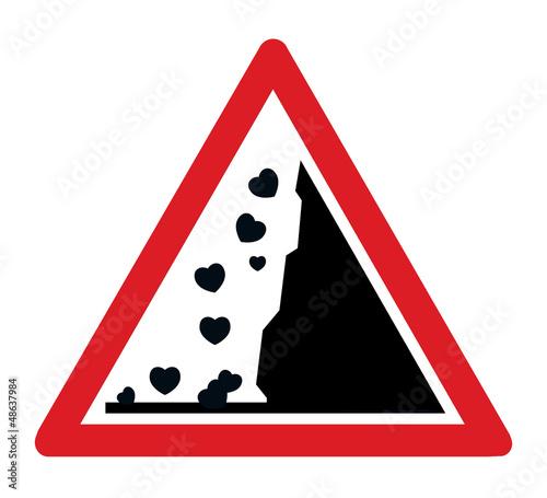 chutes de coeurs