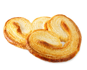 Puff pastry cookie (Palmiers)