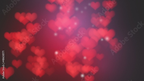 Valentines abstract background with hearts