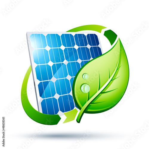 panneau solaire écologie