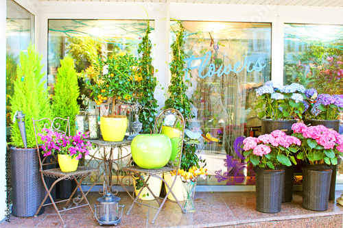 Small flower shop - 48638758