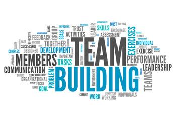 """Word Cloud """"Team Building"""""""