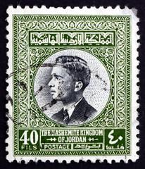 Postage stamp Jordan 1959 Hussein, King of Jordan