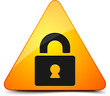 Lock warning